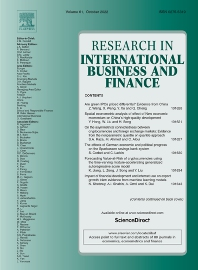 Cover image for Research in International Business and Finance