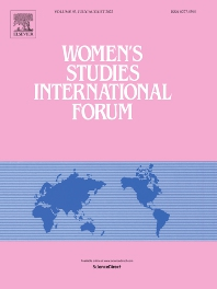 Women's Studies International Forum - ISSN 0277-5395