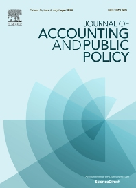 Cover image for Journal of Accounting and Public Policy