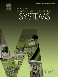 Cover image for Journal of Manufacturing Systems