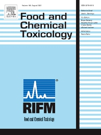 cover of Food and Chemical Toxicology