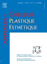 Cover image for Annales de Chirurgie Plastique Esthétique