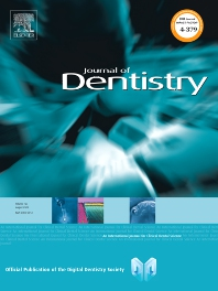 Cover image for Journal of Dentistry