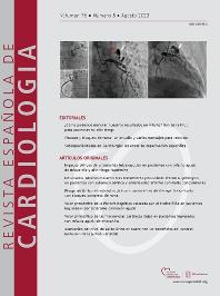 Cover image for Revista Española de Cardiología