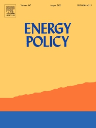 Cover image for Energy Policy