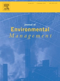 Cover image for Journal of Environmental Management