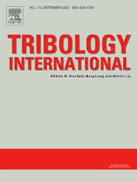 Cover image for Tribology International