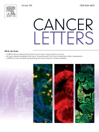 Cover image for Cancer Letters