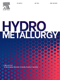 Cover image for Hydrometallurgy