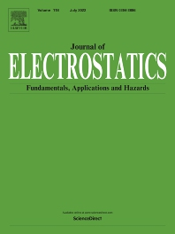 Cover image for Journal of Electrostatics