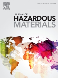 Cover image for Journal of Hazardous Materials