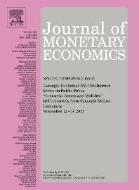 Cover image for Journal of Monetary Economics