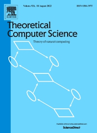 Cover image for Theoretical Computer Science