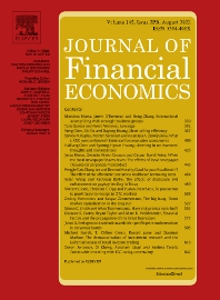 Cover image for Journal of Financial Economics