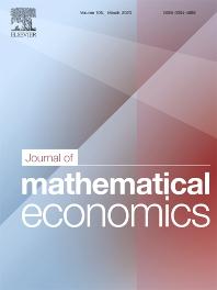 Journal of Mathematical Economics - Elsevier
