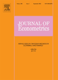 Cover image for Journal of Econometrics