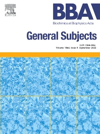 Cover image for Biochimica et Biophysica Acta: General Subjects