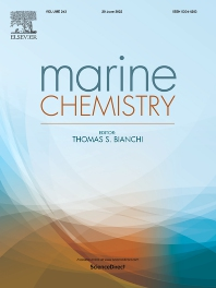 Cover image for Marine Chemistry