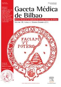 Gaceta Médica de Bilbao - ISSN 0304-4858