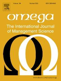 Omega - Journal - Elsevier