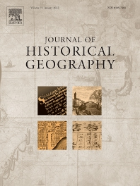 Cover image for Journal of Historical Geography