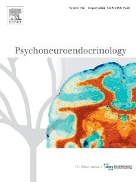 Cover image for Psychoneuroendocrinology