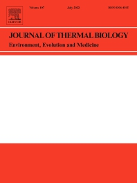 Journal of Thermal Biology - ISSN 0306-4565