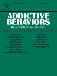 Addictive Behaviors - ISSN 0306-4603