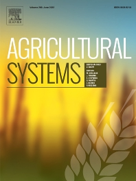Agricultural Systems - ISSN 0308-521X