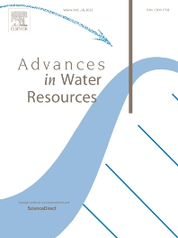 Cover image for Advances in Water Resources