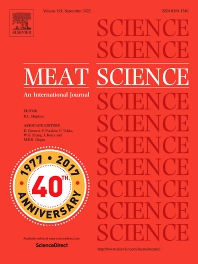 Meat Science - ISSN 0309-1740