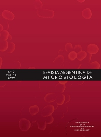 Cover image for Revista Argentina de Microbiología