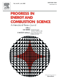 Progress in Energy and Combustion Science - ISSN 0360-1285