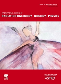 Cover image for International Journal of Radiation Oncology, Biology, Physics