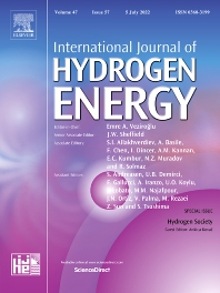 Cover image for International Journal of Hydrogen Energy