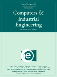 Cover image for Computers & Industrial Engineering