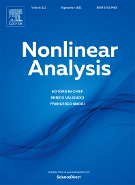 Nonlinear Analysis - ISSN 0362-546X