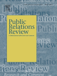 Public Relations Review - ISSN 0363-8111