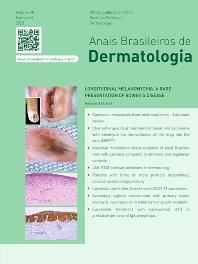 Cover image for Anais Brasileiros de Dermatologia