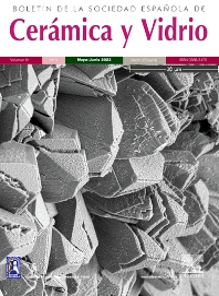 Cover image for Boletín de la Sociedad Española de Cerámica y Vidrio