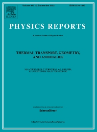 Physics Reports - ISSN 0370-1573