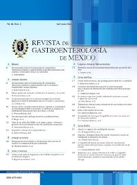 Cover image for Revista de Gastroenterología de México