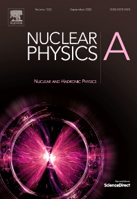 Cover image for Nuclear Physics A