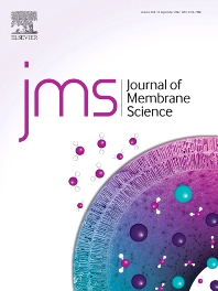 Cover image for Journal of Membrane Science