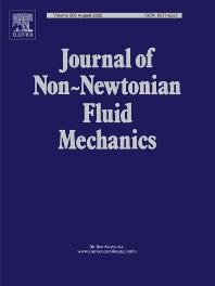 Cover image for Journal of Non-Newtonian Fluid Mechanics