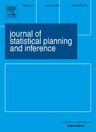 Cover image for Journal of Statistical Planning and Inference