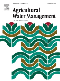 Cover image for Agricultural Water Management