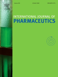 cover of International Journal of Pharmaceutics