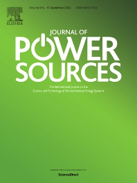 Cover image for Journal of Power Sources