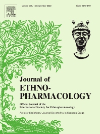 Cover image for Journal of Ethnopharmacology